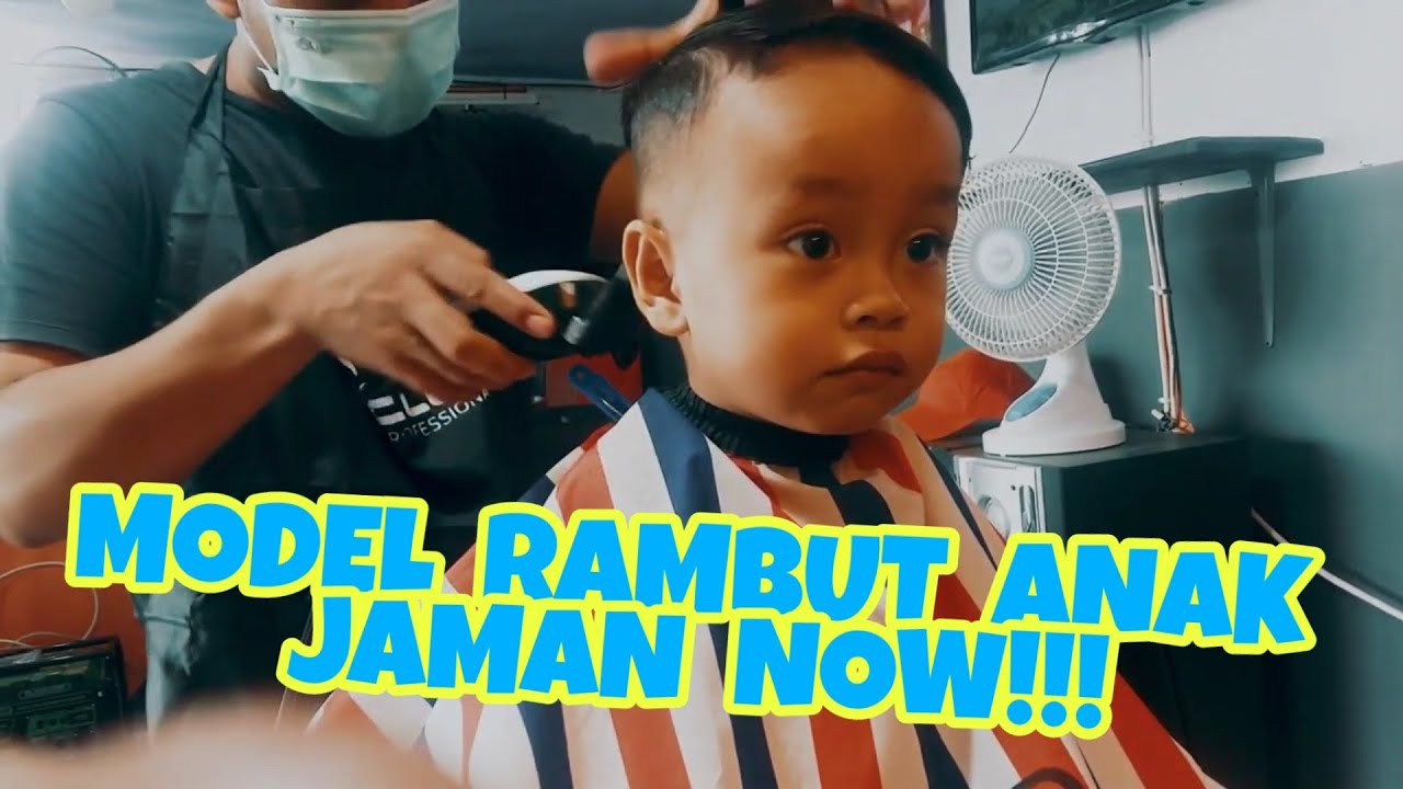MODEL RAMBUT ANAK JAMAN NOW!!! - YouTube