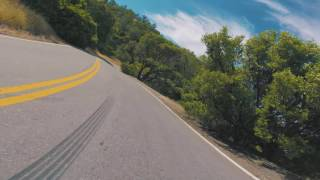 2x Tesla Model 3 on Mt. Hamilton