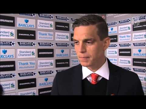 Daniel Agger reflects on final day Post Match Liverpool 2-1 Newcastle Interview 11/05/14