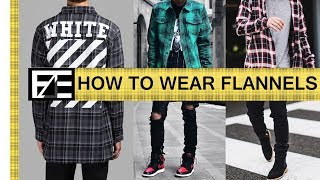 How to | Style a Flannel