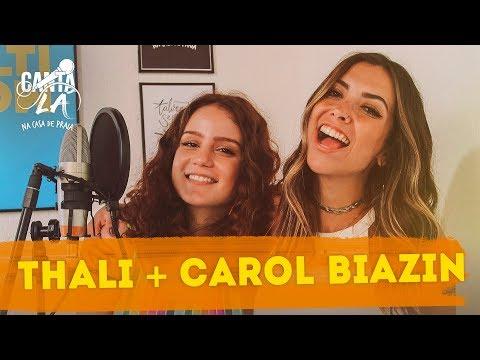 Thalita Meneghim e Carol Biazin ensaiam a música mais difícil  Canta Lá Na Casa De Praia