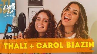 Baixar Thalita Meneghim e Carol Biazin ensaiam a música mais difícil | Canta Lá Na Casa De Praia