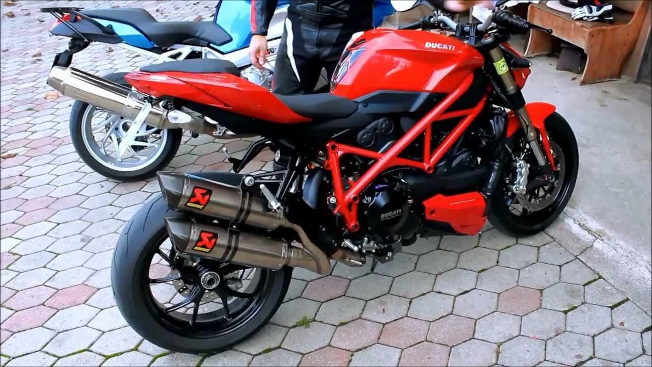 Ducati Streetfighter  Exhaust