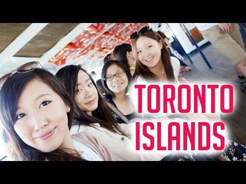 VLOG #7: Exploring Toronto Island (Centre Island)