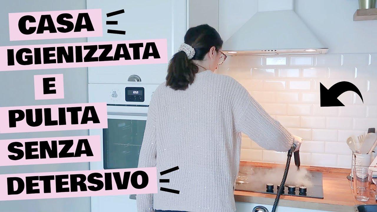 PULIZIE INTENSE IGIENIZZARE CASA SENZA DETERSIVO