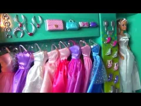 NEW Barbie With Magic Dresses Shoes Bracelets and Crown  HD