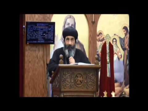 His Grace Bishop Tadros of Port Said - 10/23/13