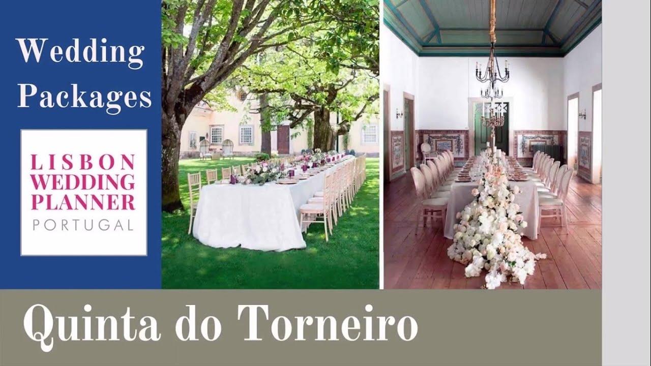 Lisbon Wedding Planner Wedding Packages - Quinta do Torneiro