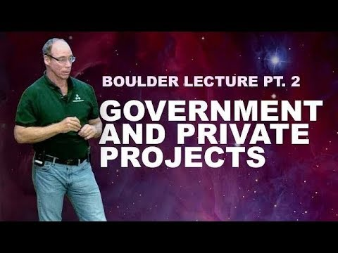 Dr. Steven Greer's Lecture in Boulder Pt. 2 ►Government and Private Projects | 2018-06-23