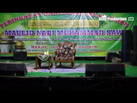 Live Peringatan Maulid Nabi Muhammad SAW (Masjid Djamie Baetturrohim) Desa Gunungsari  IM Bag Malam