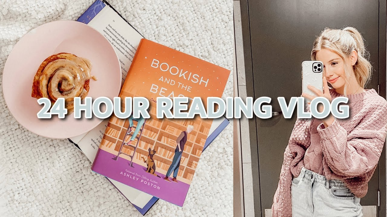 Download 24 hour reading vlog ✨ | sweater weather readathon