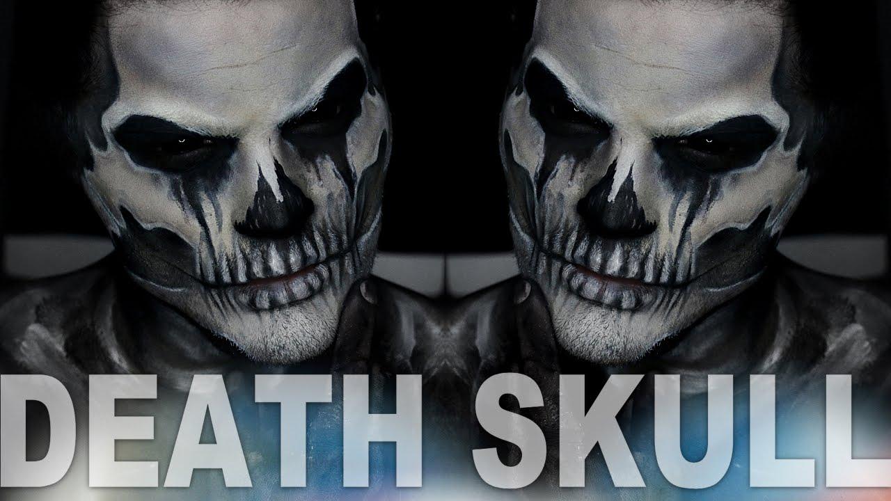 four horsemen death skull makeup tutorial alex faction