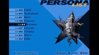 Shin Megami Tensei : Persona 3 FES -166- Arahabaki