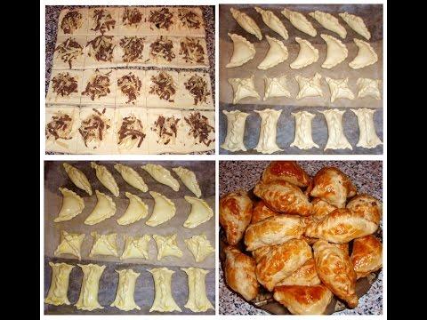 рецепты выпечки слоеное тесто