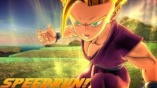 Dragon Ball Z Battle Of Z Vs Kid Buu SPEEDRUN! ♫ -BREAK FREE- ♫
