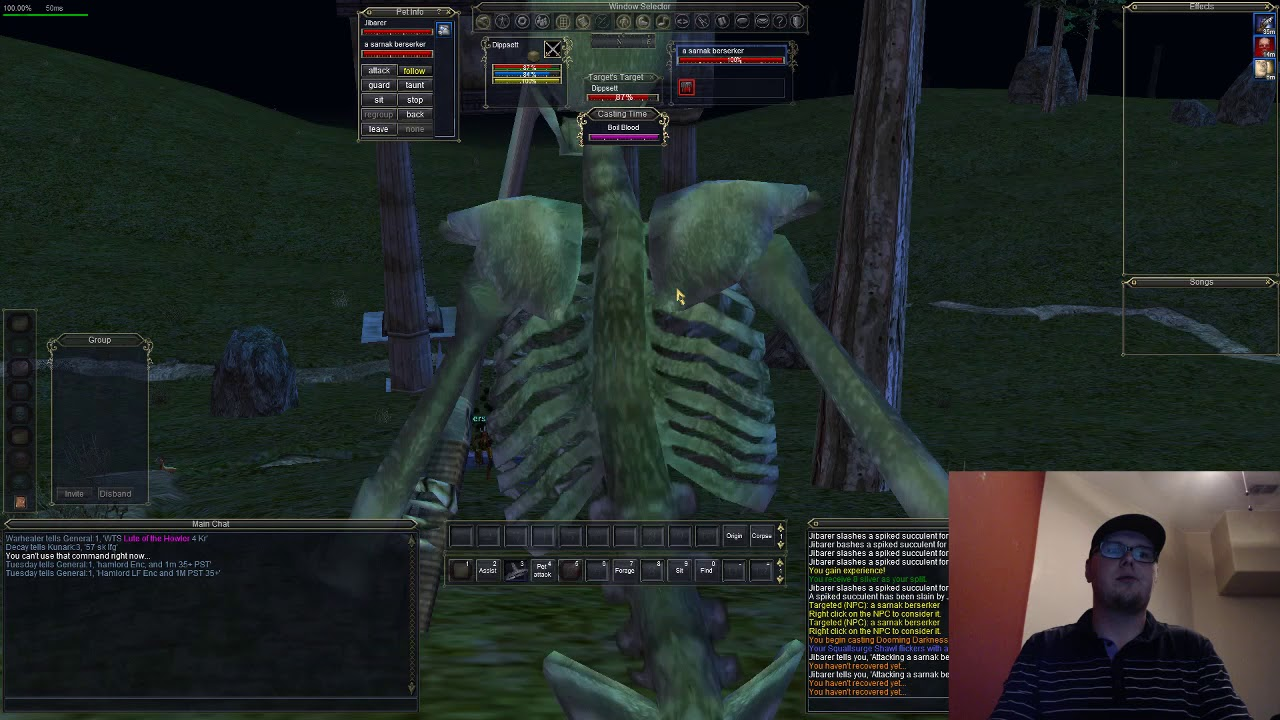 Everquest - Necromancer - Solo Overthere - Agnarr Server