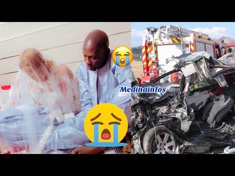 Accident mortel : mariés même pas 15 jours, le mari meurt sur le coup et la femme dans le coma