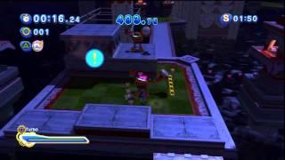 Sonic Generations - Seaside Hill Acte 2 - Défi 1 : Rouge - La charmeuse