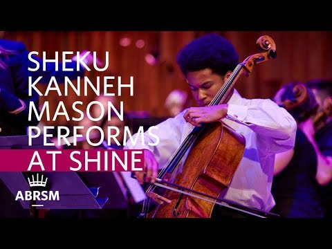 Sheku Kanneh Mason performs 1st mvt from Suite for Solo Cello, Gaspar Cassadó | ABRSM Shine 2017