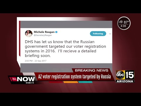 Russia targeted Arizona voter registration system in 2016
