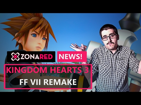 KINGDOM HEARTS 3 y FFVII Remake, nuevas imágenes pero sin fechas - ZR News