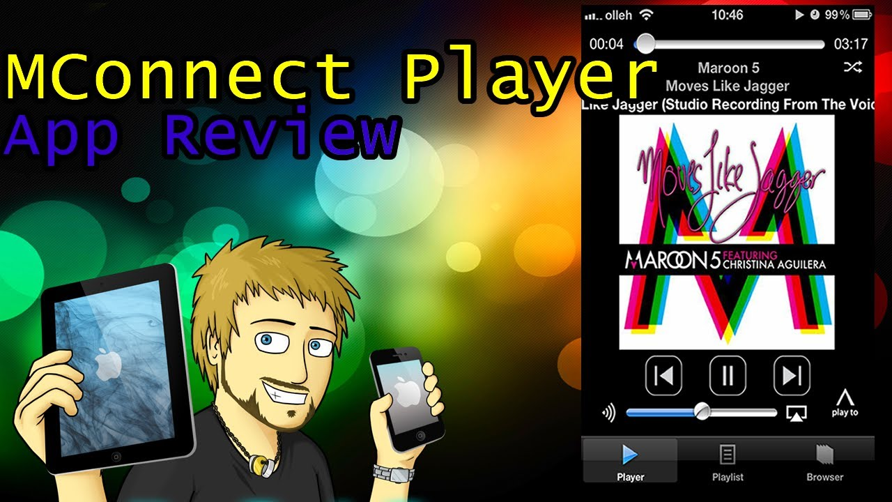Awesome Media Player || MConnect Player App Review