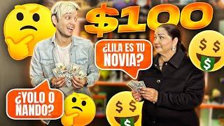 SI ME RESPONDES LA PREGUNTA TE DOY $100 DÓLARES (Preguntas incómodas con mi mamá)