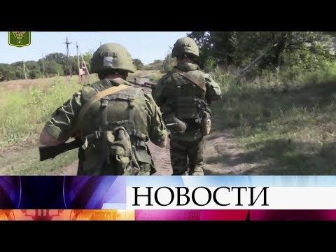 В Донбассе - новое обострение ситуации на линии соприкосновения.