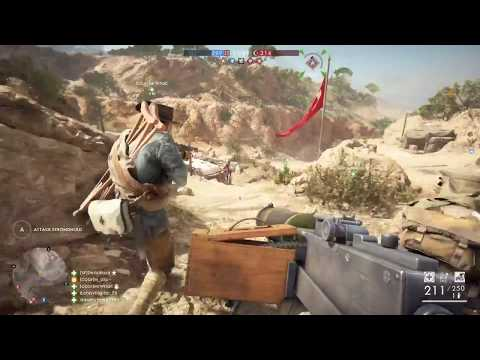 Battlefield 1: M1917 MG Low Weight (Browning MG) Gameplay Turning Tides DLC 68-6 MVP