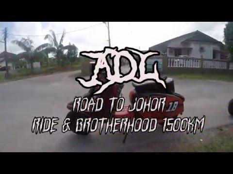 ADL Lambretta Ride To Johor Mac 2016