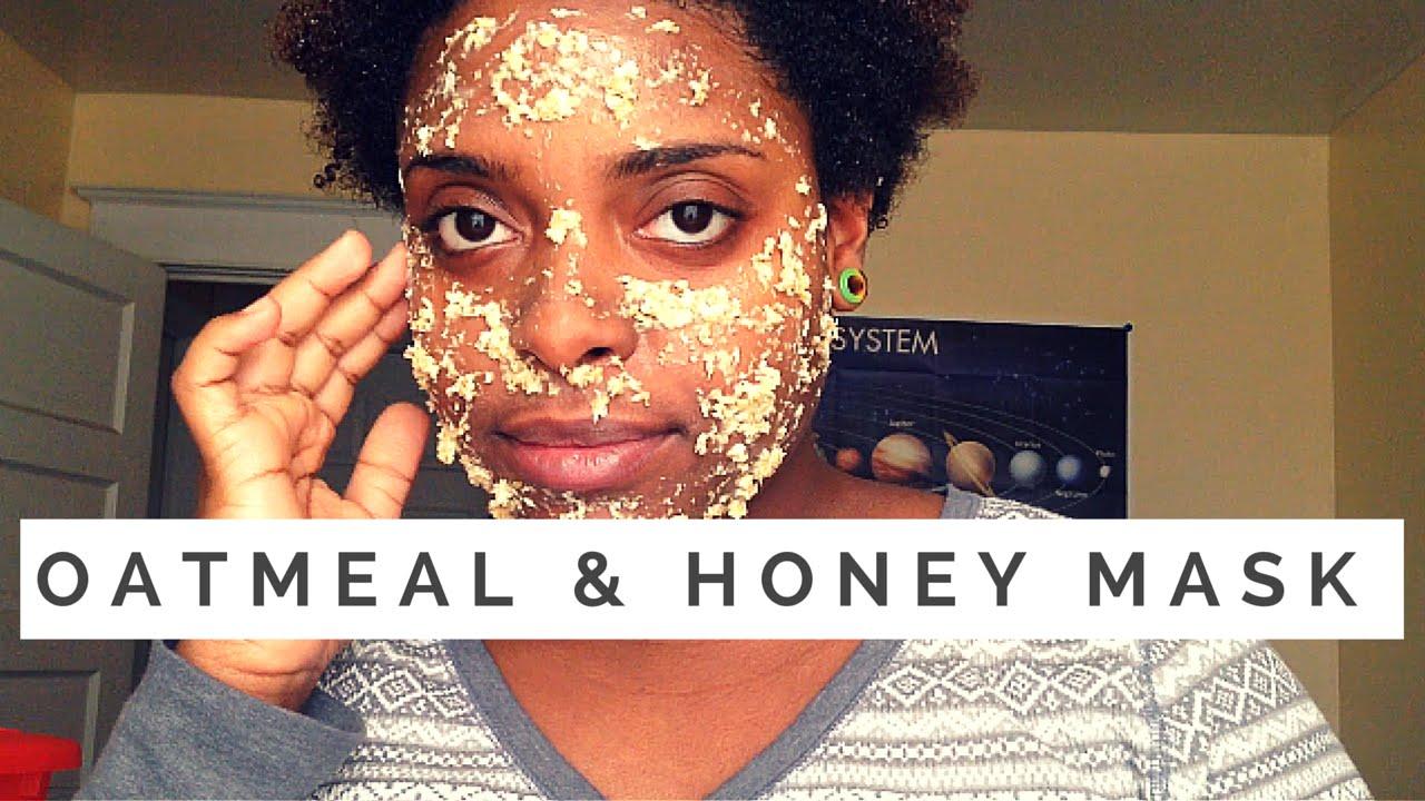 DIY Oatmeal & Honey Face Mask! (All