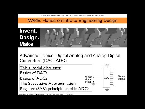 Tutorial: Digital-to-Analog Converters (DAC) And Analog-to-Digital Converters (ADC)