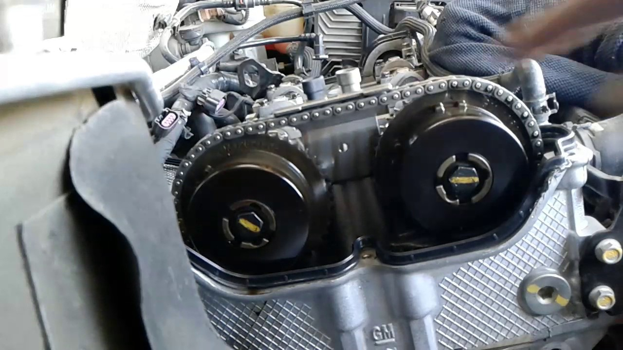 2011 Buick Regal tensioner failed part 1  YouTube
