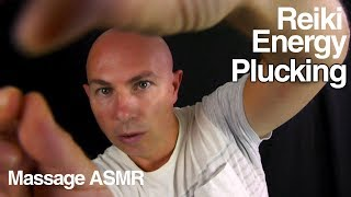 ASMR Reiki Energy Healing & Plucking Role Play