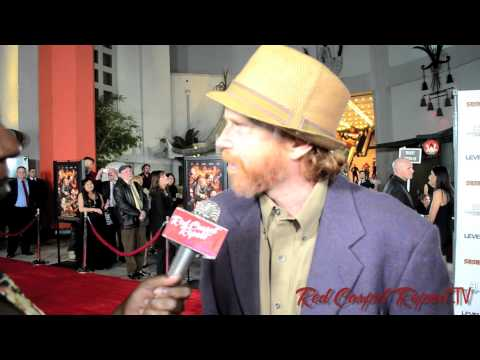 Courtney Gains at the Sushi Girl Gala Premiere Red Carpet