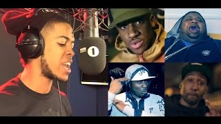 TOP 10 - DISS TRACKS ll IN HISTORY OF GRIME ll
