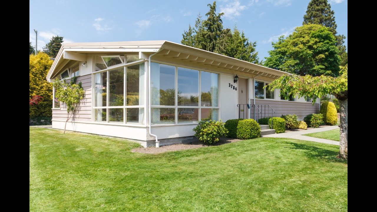 Cadboro Bay Mid Century Modern Homes Victoria Real
