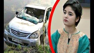 Dangal Actress Zaira Wasim Car Accident