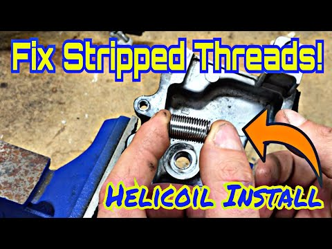Subaru DIY:  Thread Repair – Helicoil Installation