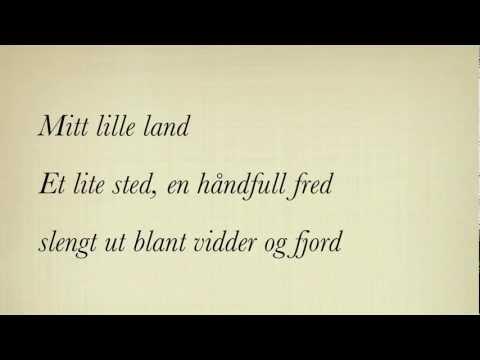 Mitt Lille Land - Maria Mena (Instrumental med tekst)