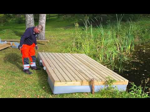 Make your own Swimming Pontoon ECO