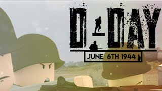 THESE MG'S ARE DAMNED|| Roblox D-Day|| LINK IN DESC||