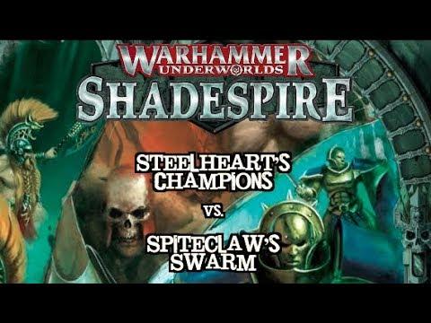 Warhammer Underworlds: Shadespire EP 09 - Spiteclaw's Swarm vs. SEC Relics