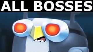 Rocketbirds 2: Evolution - All Bosses (All Boss Fights Gameplay) (No Commentary)