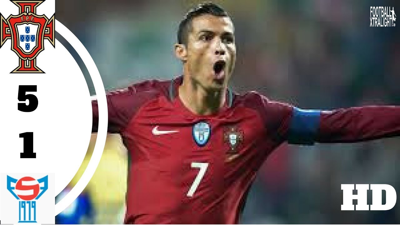 Download Portugal vs Faroe Islands 5-1 - All Goals & Highlights - World Cup Qualifiers 31/08/2017 HD