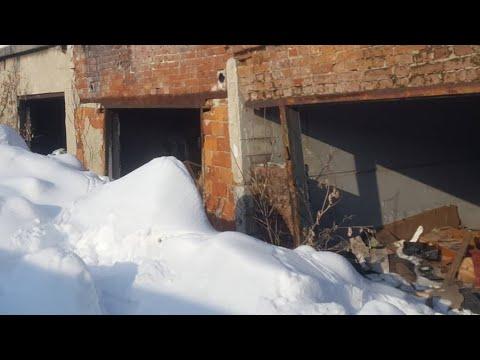 Инвестиции в четвёртый заброшенный гараж что там внутри гаража.