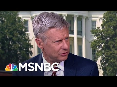 "Gary Johnson Explains His ""What is Aleppo?"" Stumble   MSNBC"