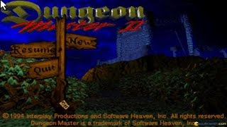 Dungeon Master 2: The Legend of the Skullkeep gameplay (PC Game, 1993)