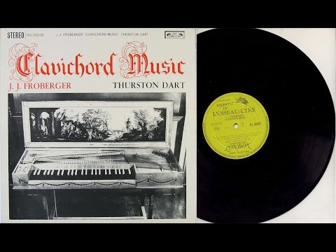 Thurston Dart (clavichord) 'Clavichord Music' J.J. Froberger