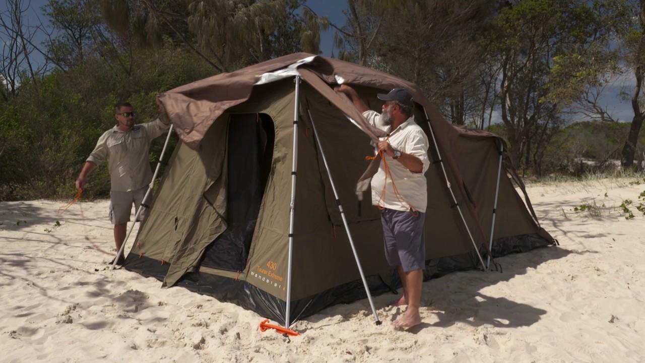 Wanderer 430 Extreme Tent - BCF & Wanderer 430 Extreme Tent - BCF - YouTube